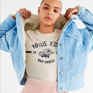 BDG Sherpa Corduroy Jacket (Urban Outfitters)